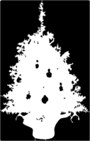 bridged layer 1 of stencil of Christmas Tree