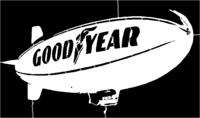 bridged layer 1 of stencil of Goodyear Blimp