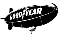 bridged layer 2 of stencil of Goodyear Blimp