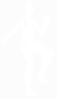 unbridged layer 1 of stencil of Fortnite Character