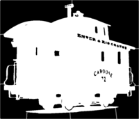 bridged layer 1 of stencil of Caboose