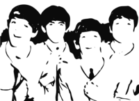 unbridged layer 5 of stencil of The Beatles