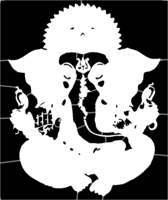 bridged layer 1 of stencil of Ganesh