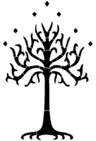 bridged layer 2 of stencil of Tree of Gondor