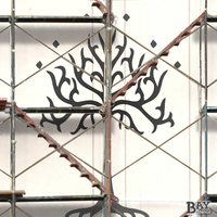 painted stencil art of Tree of Gondor
