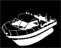 bridged layer 1 of stencil of Fishing Boat