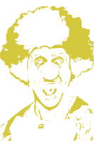 stencil layer of Clown