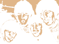 stencil layer of The Beatles