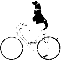bridged layer 4 of stencil of Bicycle