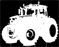 bridged layer 1 of stencil of Tractor
