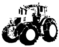 bridged layer 4 of stencil of Tractor