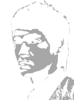 stencil layer of Bruce Lee