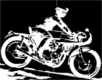 bridged layer 1 of stencil of Classic Yamaha