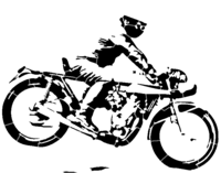 bridged layer 3 of stencil of Classic Yamaha