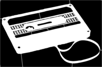 bridged layer 1 of stencil of Cassette Tape