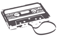 unbridged layer 2 of stencil of Cassette Tape