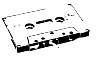 bridged layer 3 of stencil of Cassette Tape