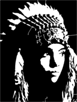 bridged layer 4 of stencil of Chief