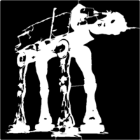 bridged layer 1 of stencil of AT-AT