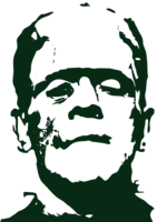 stencil layer of Frankenstein