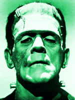 original image of Frankenstein