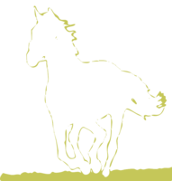 unbridged layer 2 of stencil of Black Horse