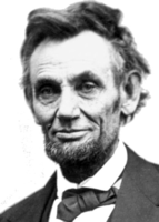 original image of Abraham Lincoln