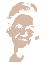 unbridged layer 1 of stencil of Elizabeth Warren