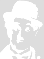 stencil layer of Charlie Chaplin