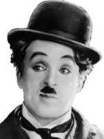 original image of Charlie Chaplin