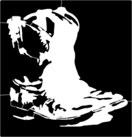 bridged layer 1 of stencil of Boots