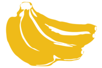 unbridged layer 2 of stencil of Bananas
