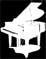 bridged layer 1 of stencil of Grand Piano
