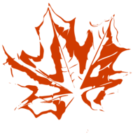 unbridged layer 3 of stencil of Maple Leaf