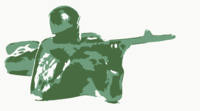stencil of Sharpshooter