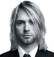 original image of Kurt Cobain