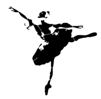 bridged layer 1 of stencil of Ballerina